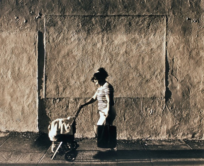 image from the Street Level series: Laundry