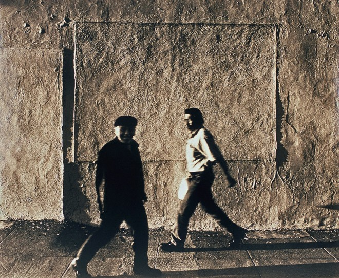 image from the Street Level series: Two Men