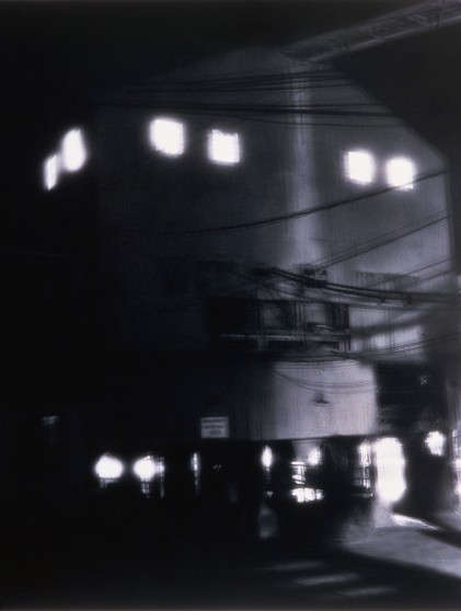 image from Transform/Transcend series: Cement Plant at Night