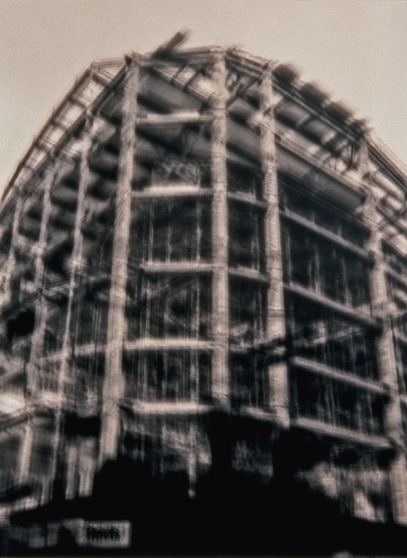 image from Transform/Transcend series: San Francisco Metreon under construction